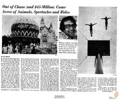 Out of Chaos Pg1 - NY Times Aug 4, 1974
