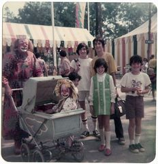 Our Family at the park - 1976 ish