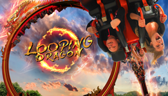 looping dragon Key Art