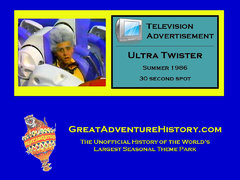 1986 - Ultra Twister Commercial