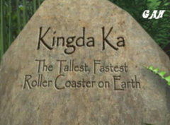 SFGA Introduces Kingda Ka