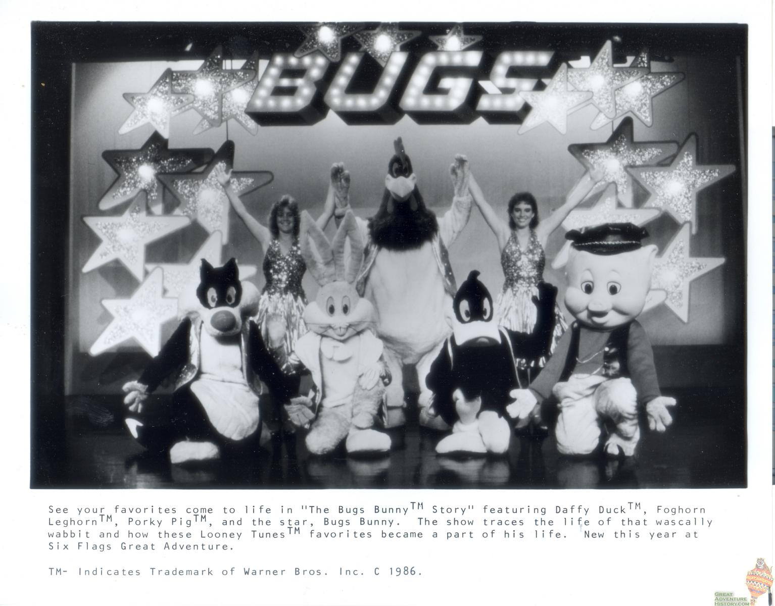 1986 Press Kit - Bugs Bunny Story
