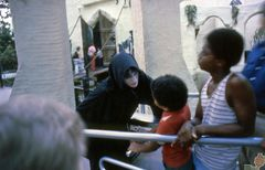 Ghoul Outside The Haunted Castle 1979