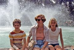 Family at the Fountain 1979