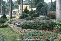 1983 Entrance Area Landscaping