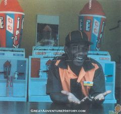 Icee Stand Worker 1980