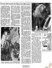 Great Adventure Is Open -NYT July 2 1974