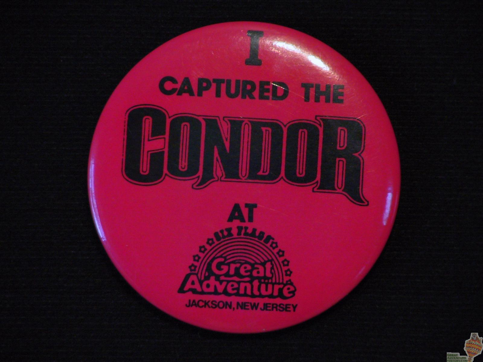 AVAILABLE: 1988 Condor Button