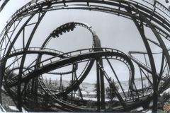 ShockWave at Magic Mountain - Overview
