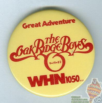 1982 Oak Ridge Boys at GA Button