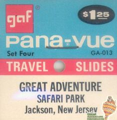 WANTED: Great Adventure Pana-vue Slide Sets