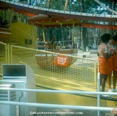 Giant Wheel loading area 1975