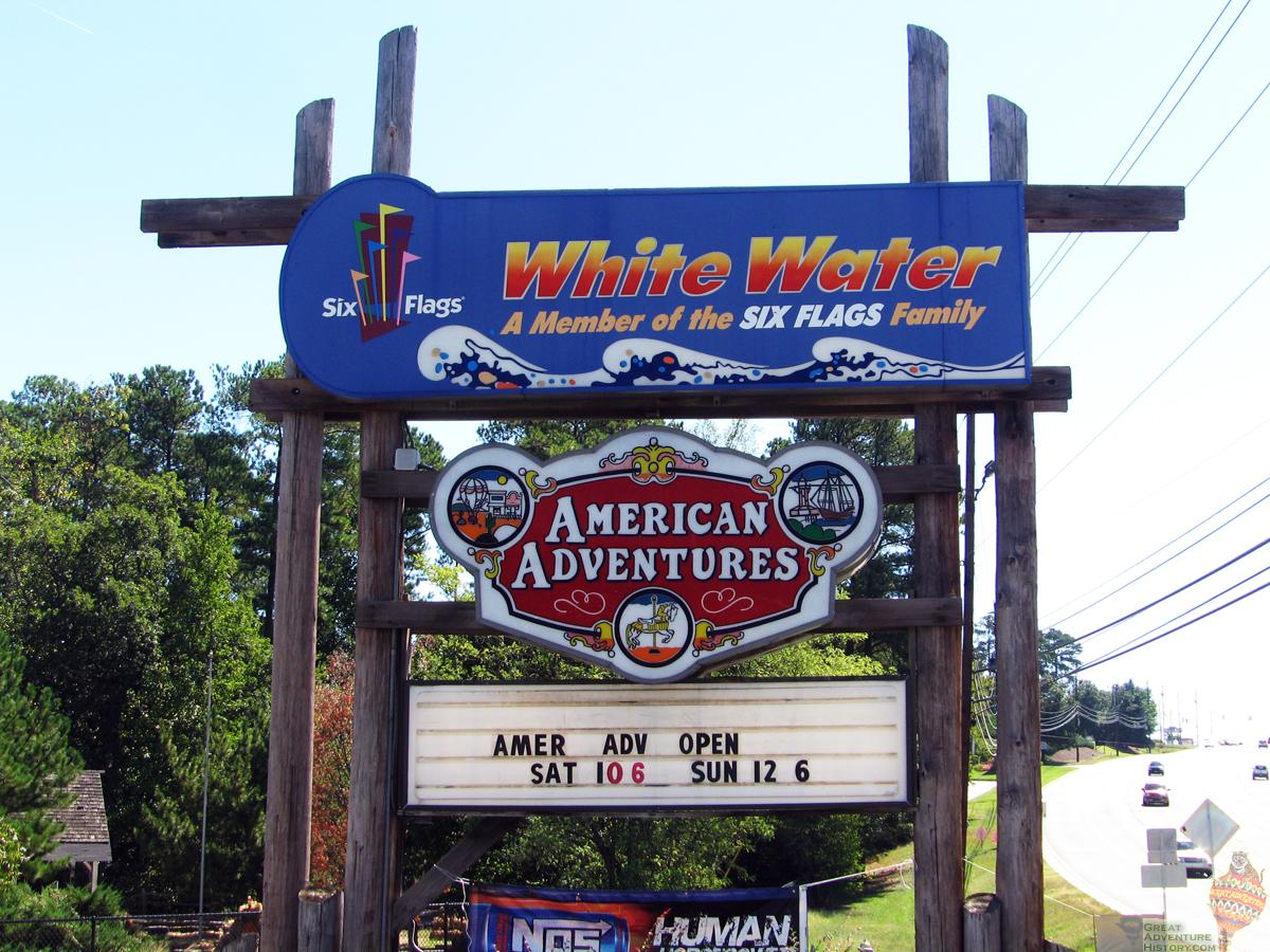 Six Flags White Water and American Adventures Park