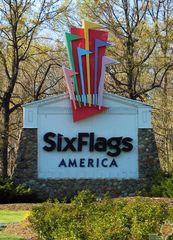 Six Flags America Entrance Roadway