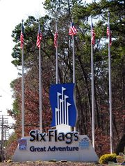 Six Flags Great Adventure Entrance