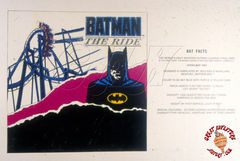 Batman The Ride Promo Art