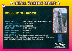 Thrill Seekers Card 04 Back