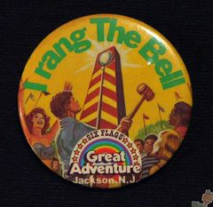 AVAILABLE: 1980s Bell Ringer Button