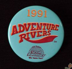 AVAILABLE: 1991 Adventure Rivers Button