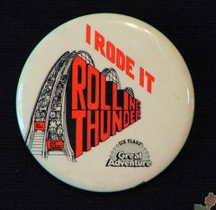 AVAILABLE: 1979 Rolling Thunder Button