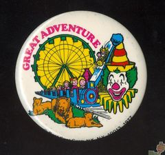 AVAILABLE: 1977 Great Adventure Button
