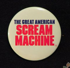 AVAILABLE: 1989 Great Amer Scream Mach Button