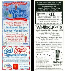 2003 Winter Lights Discount Coupon