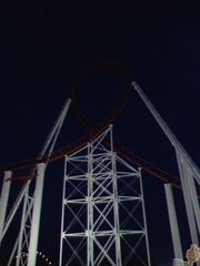 The first loop, moments before going dark for good.