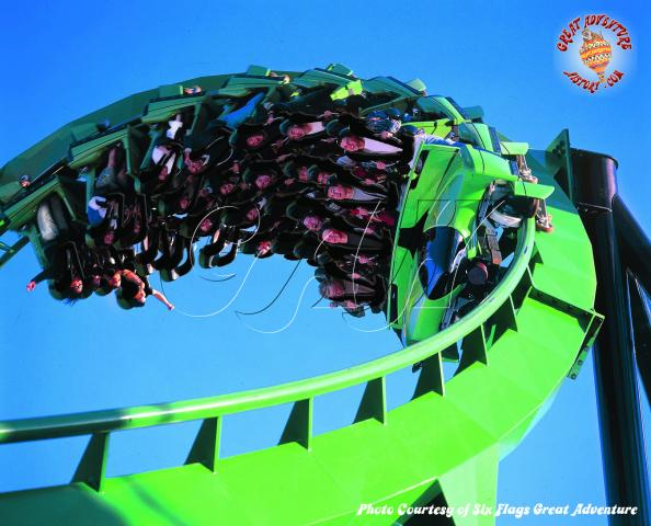 six flags great adventure green lantern. Green Lantern Coaster