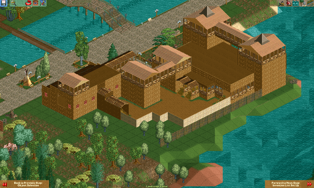 Enchanted Forest RCT2 Recreation - Great Adventure History Forums