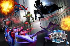 Justice League Battle For Metropolis Key Art
