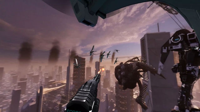 VIDEO_ Drop of Doom VR animation video from headsets