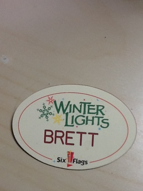 Winter Lights Nametag