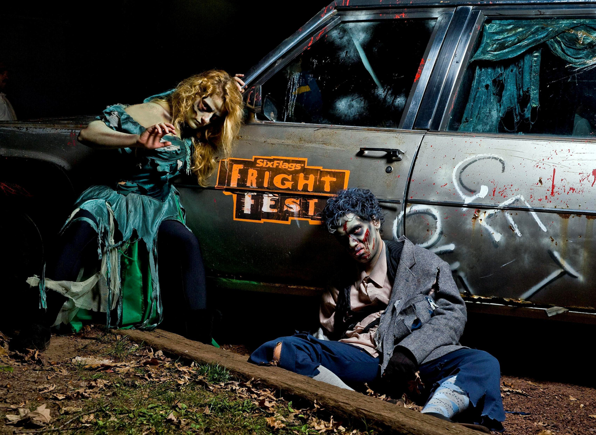 Fright Fest Hearse with Zombies copy
