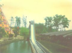 1977 Log Flume Drop