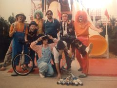 Seven Clowns All Together