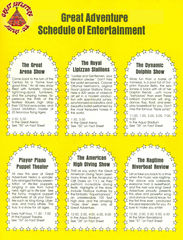1970's Entertainment Schedules
