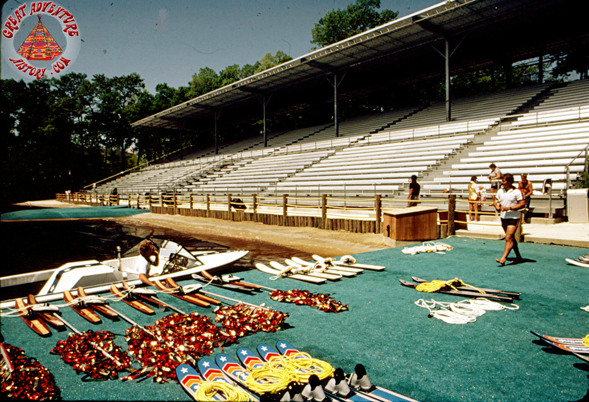 Great Lake Grandstand Pre Opening 1983
