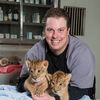 Photo   Dr Keiffer & Lion Cub Brothers