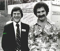 Gabe Kaplan and Brian July 4, 1976