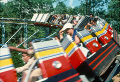 The Roller Coasters of Six Flags Great Adventure