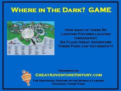 Where in the Dark?  Photos and Answers