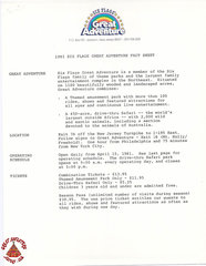 1981 Press Releases