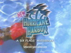 Hurricane Harbor Television Ads