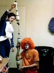 Peter Cincotta's Backstage Clowns