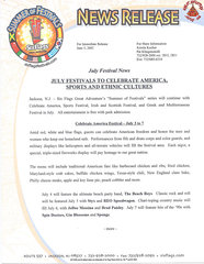 2002 July Festivals to Celebrate America, Sports and Ethnic Cultures