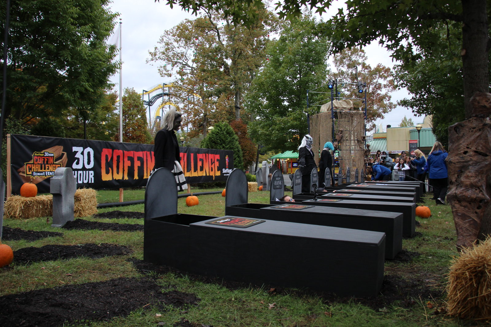 Coffin Challenge - Coffins and Zombies.JPG