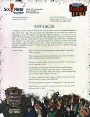 2009 Fright Fest Fun Facts