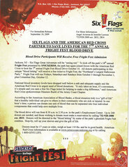 2009 Six Flags and the American Red Cross Partner to Save Lives