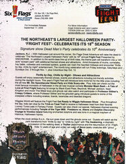 2009 Northeast's Largest Halloween Party - Fright Fest Celebrates 18th Season
